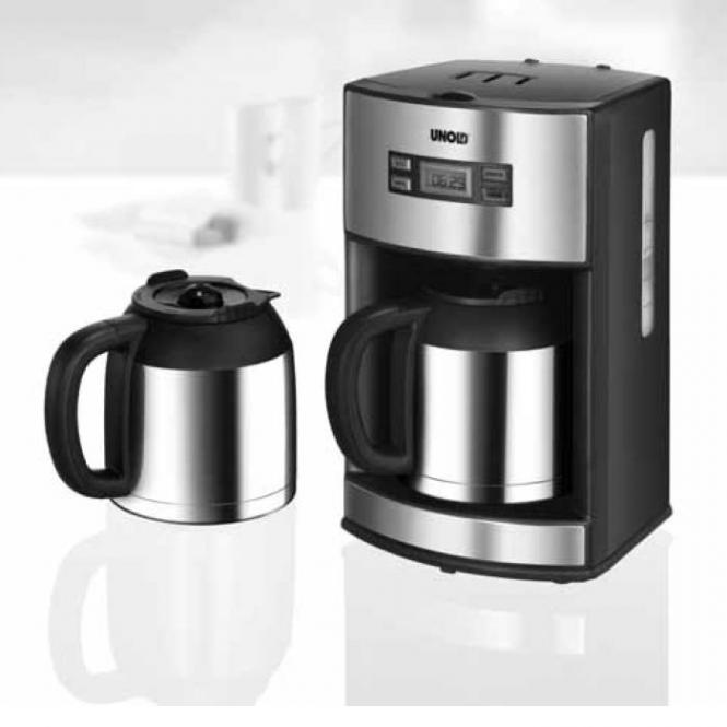 Unold Kaffeemaschine Digital 28465